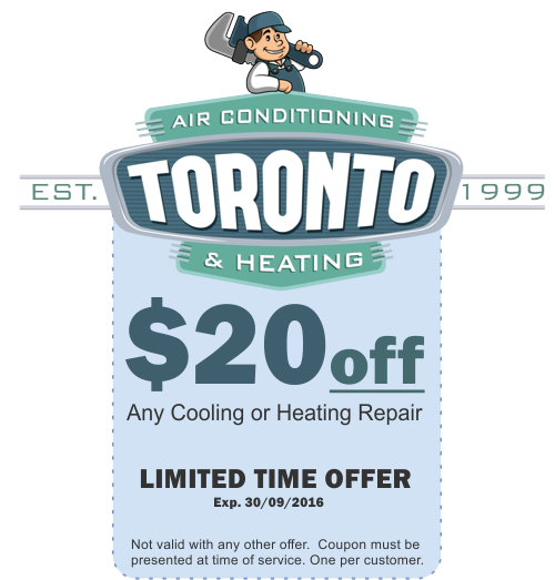 Coupons Savings Sales For Toronto Air Conditioning Furnace Repair